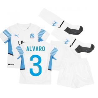 2021-2022 Marseille Home Mini Kit (ALVARO 3)
