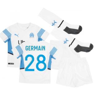 2021-2022 Marseille Home Mini Kit (GERMAIN 28)