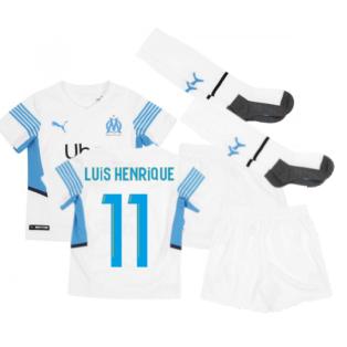 2021-2022 Marseille Home Mini Kit (LUIS HENRIQUE 11)