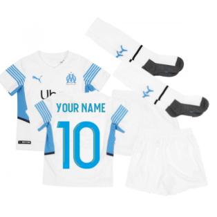 2021-2022 Marseille Home Mini Kit (Your Name)