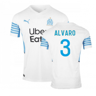 2021-2022 Marseille Home Shirt (ALVARO 3)