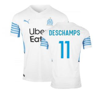 2021-2022 Marseille Home Shirt (DESCHAMPS 11)