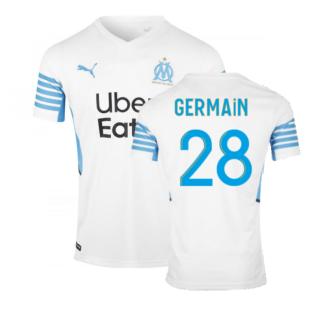 2021-2022 Marseille Home Shirt (GERMAIN 28)