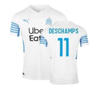 2021-2022 Marseille Home Shirt (Kids) (DESCHAMPS 11)