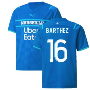 2021-2022 Marseille Third Shirt (Kids) (BARTHEZ 16)