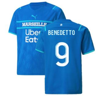 2021-2022 Marseille Third Shirt (Kids) (BENEDETTO 9)