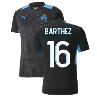 2021-2022 Marseille Training Shirt (Black) (BARTHEZ 16)
