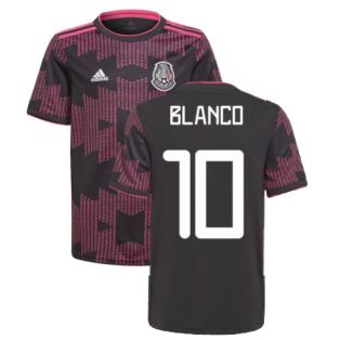 2021-2022 Mexico Home Shirt (Kids) (BLANCO 10)