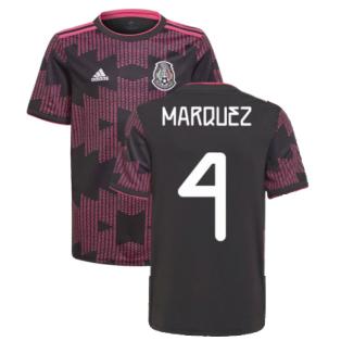 2021-2022 Mexico Home Shirt (Kids) (MARQUEZ 4)