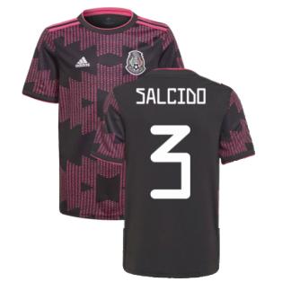 2021-2022 Mexico Home Shirt (Kids) (SALCIDO 3)