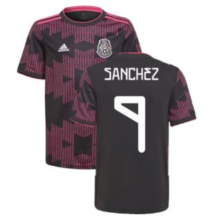 2021-2022 Mexico Home Shirt (Kids) (SANCHEZ 9)