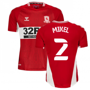 2021-2022 Middlesbrough Home Shirt (Mikel 2)