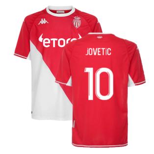 2021-2022 Monaco Home Shirt (Kids) (JOVETIC 10)