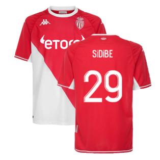 2021-2022 Monaco Home Shirt (Kids) (SIDIBE 29)