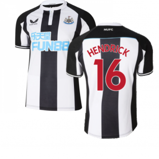 2021-2022 Newcastle United Home Shirt (HENDRICK 16)