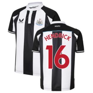 2021-2022 Newcastle United Home Shirt (Kids) (HENDRICK 16)