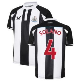 2021-2022 Newcastle United Home Shirt (Kids) (SOLANO 4)