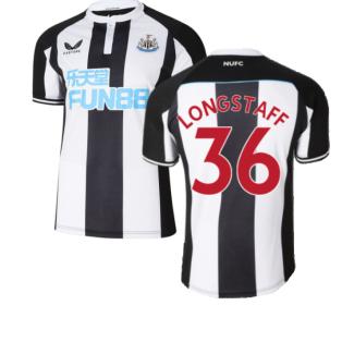 2021-2022 Newcastle United Home Shirt (LONGSTAFF 36)