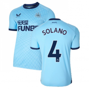2021-2022 Newcastle United Third Shirt (SOLANO 4)