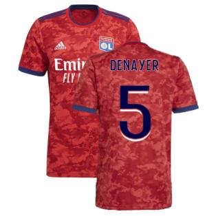 2021-2022 Olympique Lyon Away Shirt (DENAYER 5)