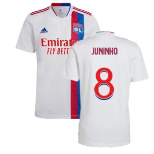 2021-2022 Olympique Lyon Home Shirt (Kids) (JUNINHO 8)