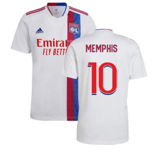 2021-2022 Olympique Lyon Home Shirt (MEMPHIS 10)