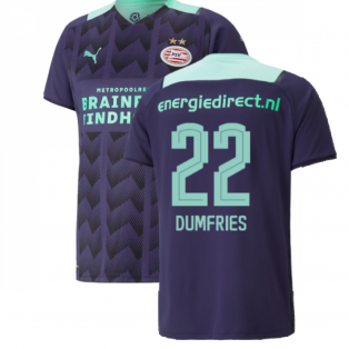 2021-2022 PSV Eindhoven Away Shirt (DUMFRIES 22)