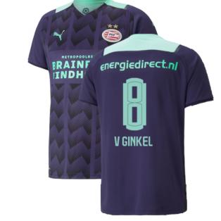 2021-2022 PSV Eindhoven Away Shirt (V GINKEL 8)