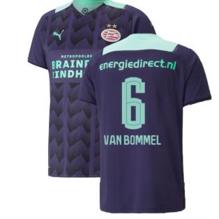 2021-2022 PSV Eindhoven Away Shirt (Van Bommel 6)