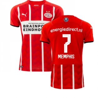 2021-2022 PSV Eindhoven Home Shirt (MEMPHIS 7)