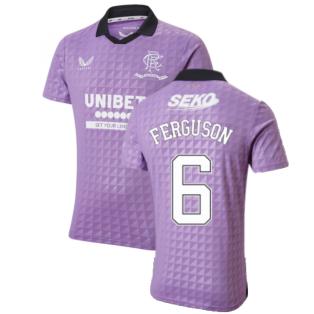 2021-2022 Rangers Third Shirt (FERGUSON 6)