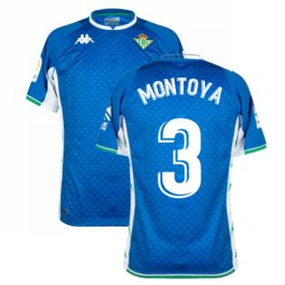 2021-2022 Real Betis Away Shirt (MONTOYA 3)