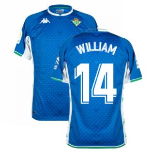 2021-2022 Real Betis Away Shirt (WILLIAM 14)