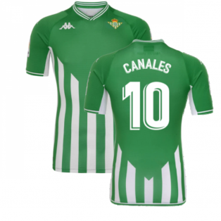 2021-2022 Real Betis Home Shirt (CANALES 10)