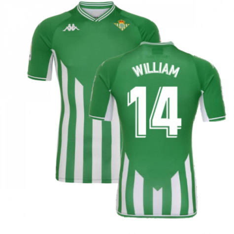 2021-2022 Real Betis Home Shirt (WILLIAM 14)