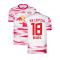 2021-2022 Red Bull Leipzig Home Shirt (White) (NKUNKU 18)