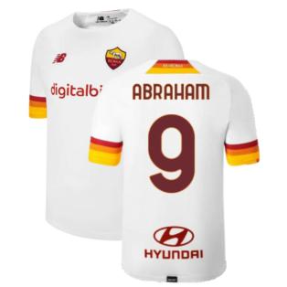 2021-2022 Roma Away Shirt (Kids) (ABRAHAM 9)