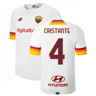 2021-2022 Roma Away Shirt (Kids) (CRISTANTE 4)