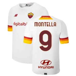 2021-2022 Roma Away Shirt (Kids) (MONTELLA 9)