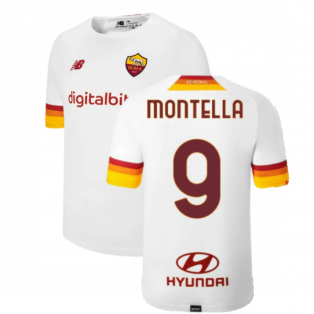 2021-2022 Roma Away Shirt (MONTELLA 9)