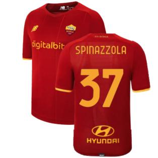 2021-2022 Roma Home Elite Shirt (SPINAZZOLA 37)