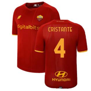 2021-2022 Roma Home Shirt (Kids) (CRISTANTE 4)