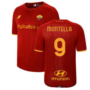 2021-2022 Roma Home Shirt (Kids) (MONTELLA 9)