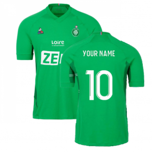 2021-2022 Saint Etienne Home Shirt (Your Name)