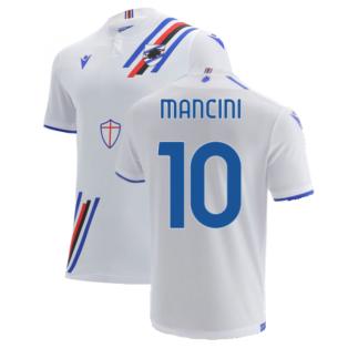 2021-2022 Sampdoria Away Shirt (MANCINI 10)