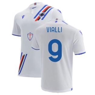 2021-2022 Sampdoria Away Shirt (VIALLI 9)