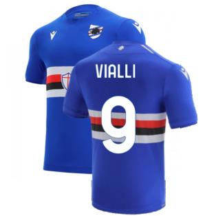 2021-2022 Sampdoria Home Shirt (Kids) (VIALLI 9)