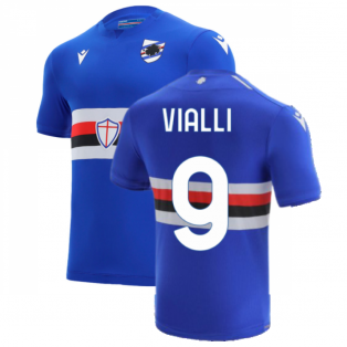 2021-2022 Sampdoria Home Shirt (VIALLI 9)
