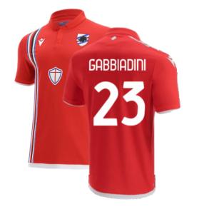 2021-2022 Sampdoria Third Shirt (GABBIADINI 23)