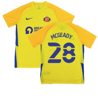 2021-2022 Sunderland Away Shirt (McGeady 28)